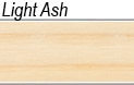 Light ash wood sample for cremation products