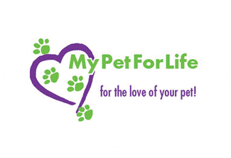 MyPetForLife – pet care items and memorial products Logo