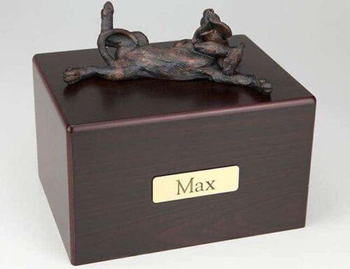 Bloodhound Cremation Figurine Urn