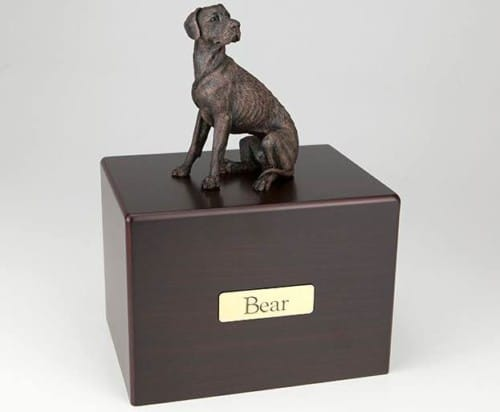 Great Dane Cremation Figurine Urn