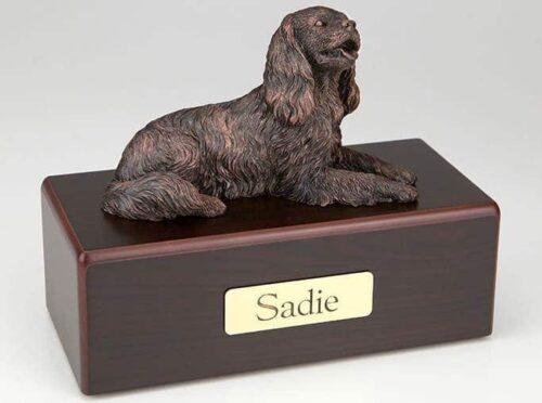 King Charles Spaniel Cremation Figurine Urn