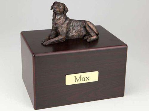 Labrador Retriever Cremation Figurine Urn
