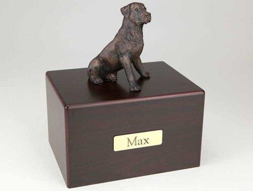 Rottweiler Cremation Figurine Urn