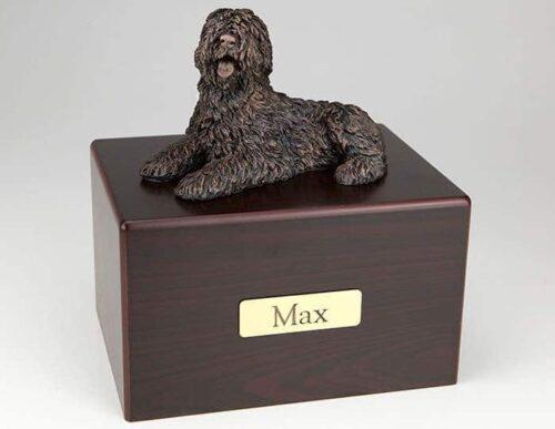 Sheepdog Cremation Figurine Urn
