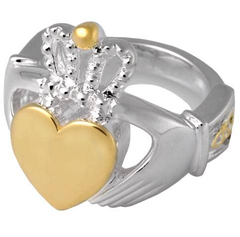 claddagh cremation ring jewelry