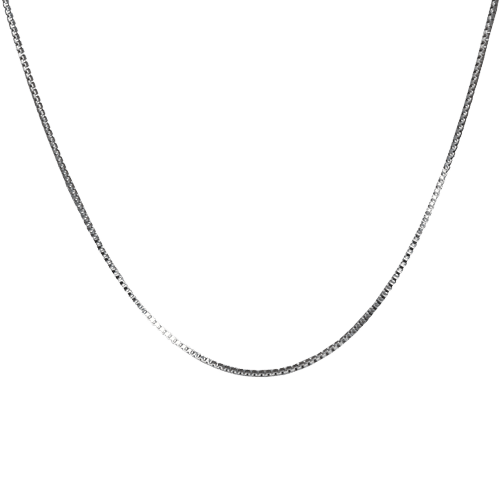 1.5 mm Stainless Steel Box Chain, 20""