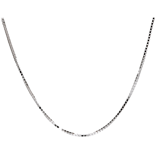 Sterling Silver Box Chain, 24""