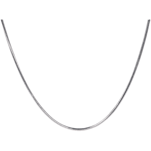 """20"""" sterling silver snake chain"""