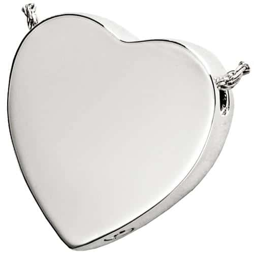 Sterling silver pet cremation jewelry peaceful heart pendant peaceful heart cremation pendant 3109 sterling silver aloadofball Choice Image