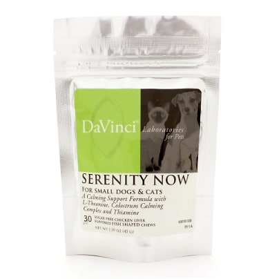 DaVinci Labs Serenity Now Chews (Cats and Small Dogs)