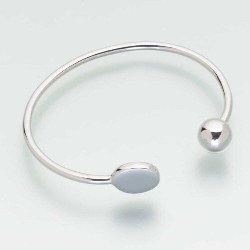 Bangle Cremation Bracelet, Sterling Silver, 214SS
