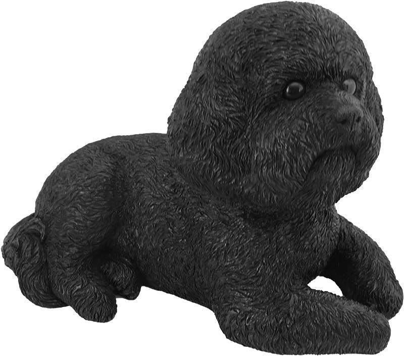 Bichon Frise Bronze Look Figurine Cremation Urn Mypetforlife Pet