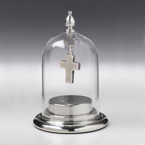 Fillable Base w/ Glass Dome Top, 138PT